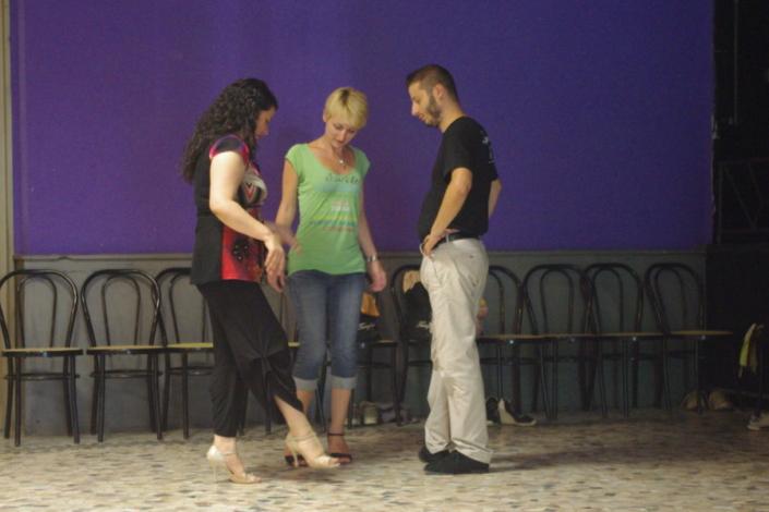 Tangolosi Tatiana e Antonio - Lezione Tango Argentino 2