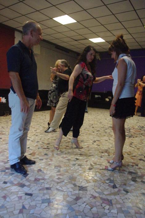 Tangolosi Tatiana e Antonio - Lezione Tango Argentino 1